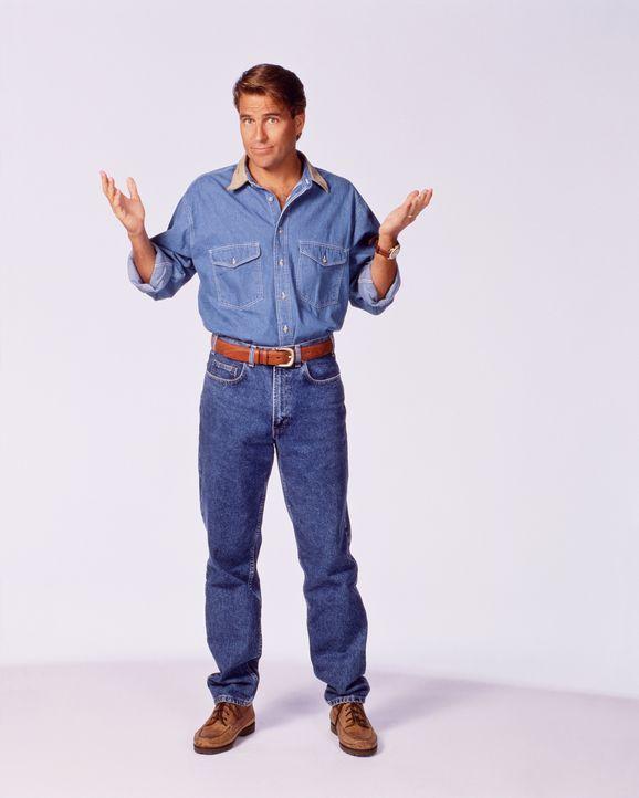 (9. Staffel) - Der etwas spießige Nachbar Jefferson (Ted McGinley) steht zwar eigentlich unter dem Pantoffel seiner Frau, wird aber nach und nach vo... - Bildquelle: 1994, 1995 ELP Communications. All Rights Reserved.