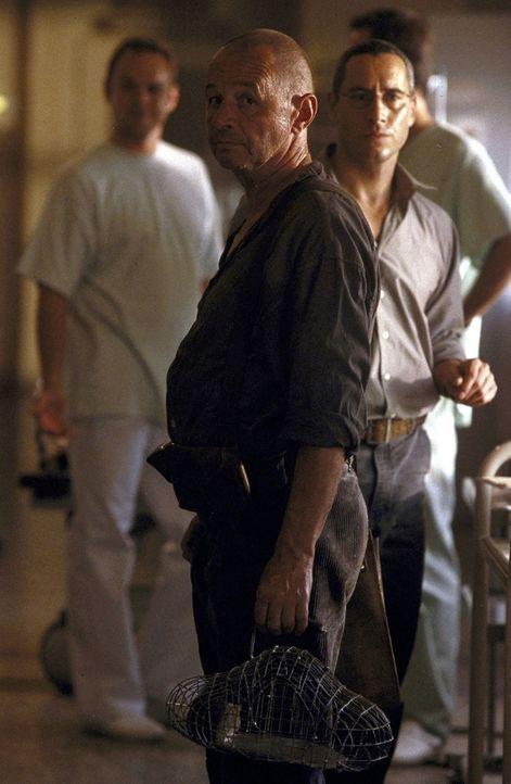 Auch im Krankenhaus müssen Frank (Ralph Herforth, r.) und Dinter (Helmut Lorin, l.) auf Rattenjagd gehen. Die Biester sind durch nichts abzuschreck... - Bildquelle: Jiri Hanzl ProSieben