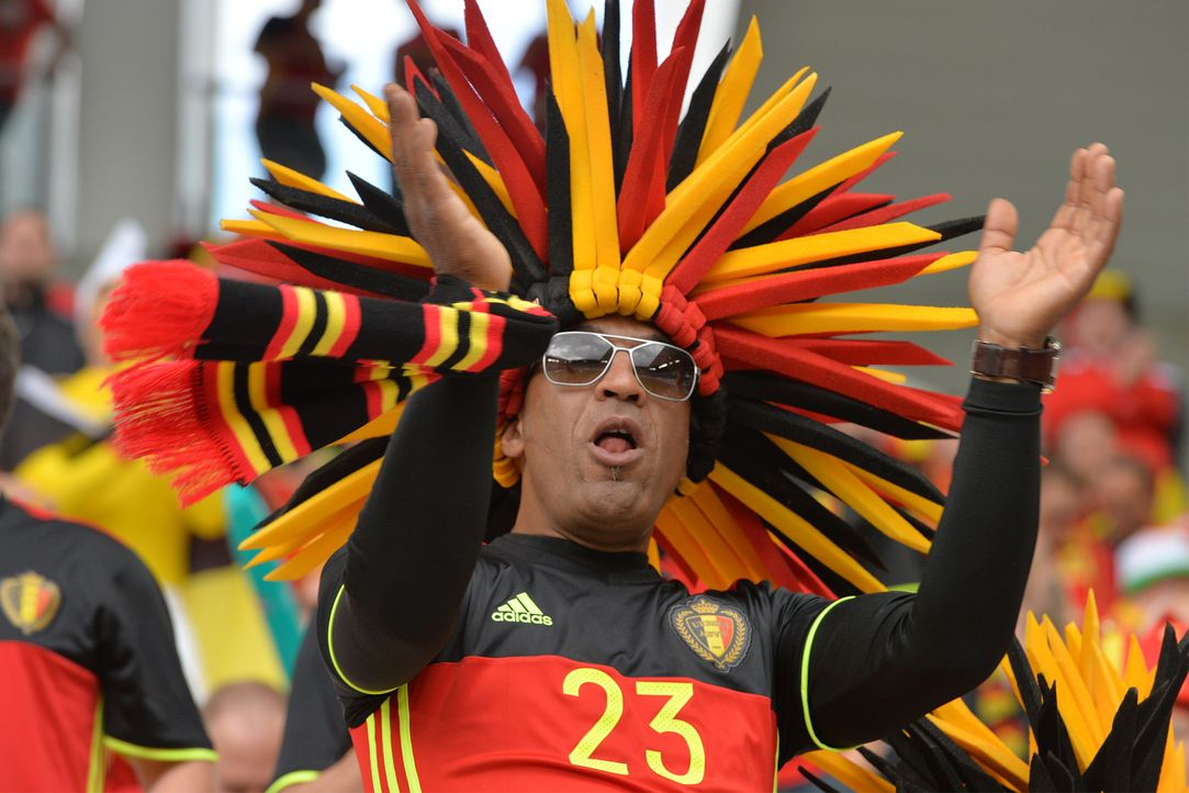 German supporter_000_C220S_NICOLAS TUCAT_AFP - Bildquelle: AFP / NICOLAS TUCAT