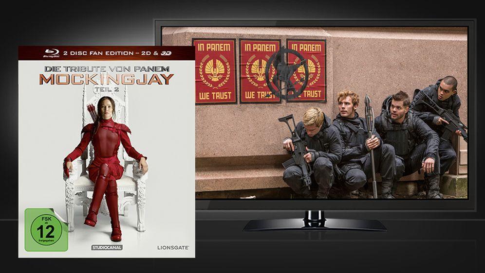 Die Tribute von Panem - Mockingjay Teil 2 (Blu-ray 2D+3D) - Bildquelle: STUDIOCANAL