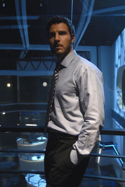 Macht dem neuen Sheriff Jack Carter das Leben schwer: Nathan Stark (Ed Quinn) ... - Bildquelle: Universal Television