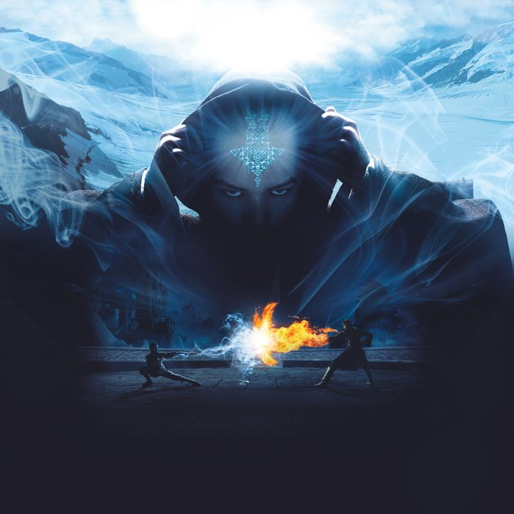 DIE LEGENDE VON AANG - Artwork - Bildquelle: 2010 PARAMOUNT PICTURES.  All Rights Reserved.