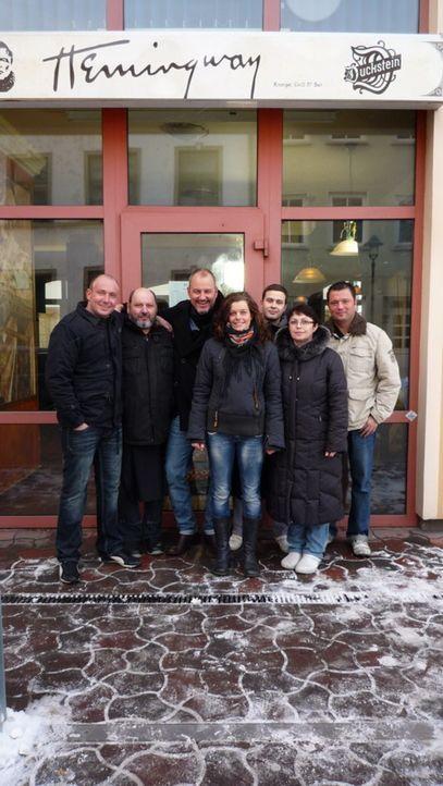"""Das Restaurant """"Hemingway"""" in Rostock bietet amerikanische Küche mit mediterranem Einschlag. Doch die Crew hat Angst um ihre Arbeitsplätze, denn es... - Bildquelle: kabel eins"""