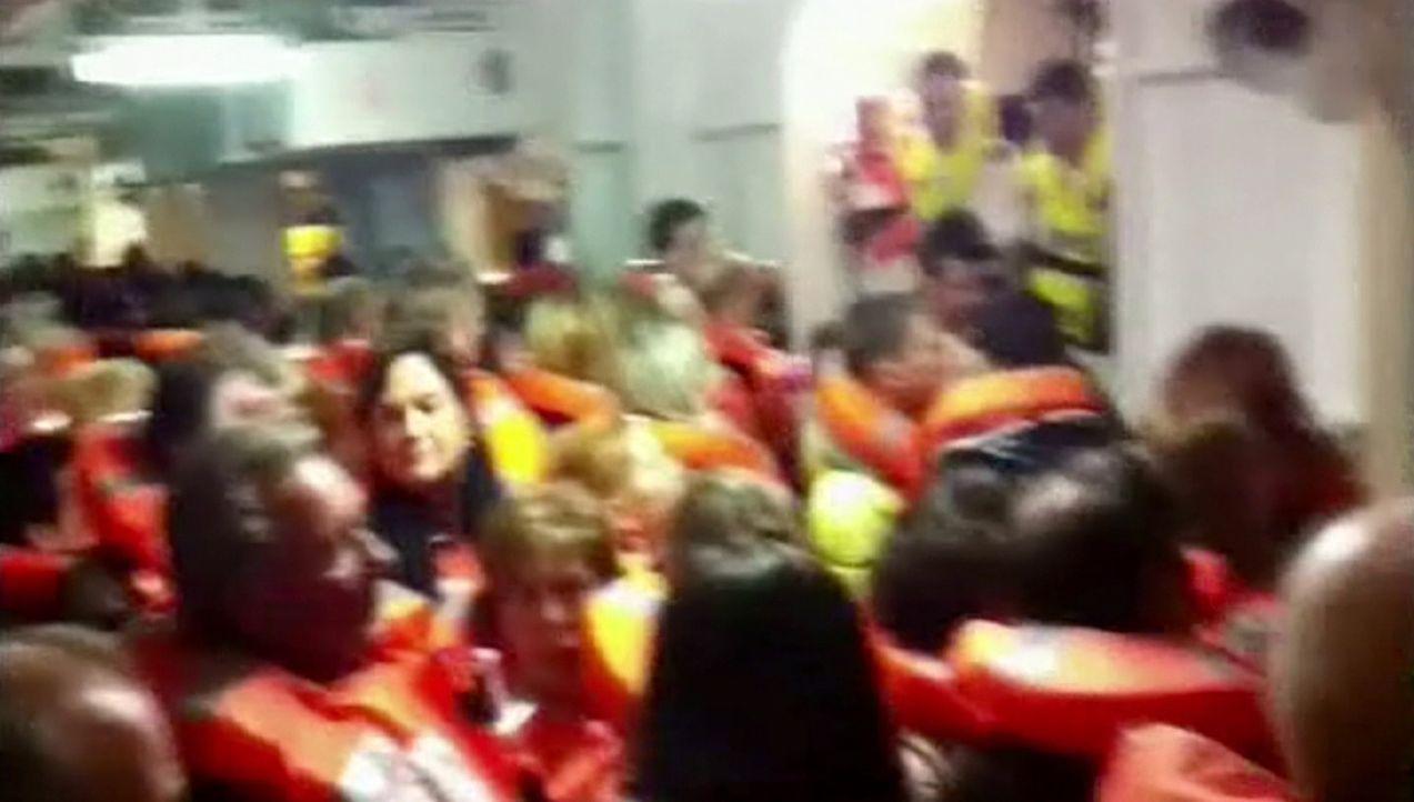 Die größten Tragödien: der Untergang der Costa Concordia ... - Bildquelle: kabel eins