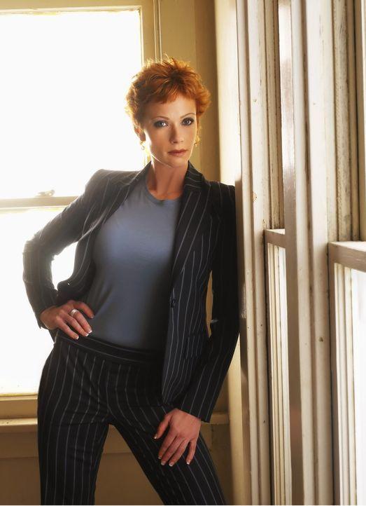 (4. Staffel) - Neue Direktorin Naval Criminal Investigation Service: Jenny Shepard (Lauren Holly) ... - Bildquelle: CBS Television