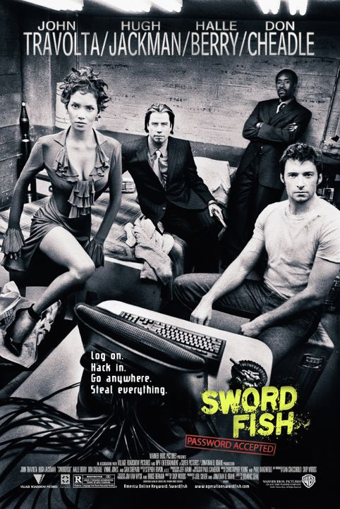 """Passwort: Swordfish"" - Bildquelle: Warner Brothers International"