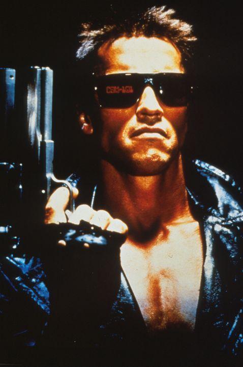 """Er kommt aus der Zukunft und kennt keine Gnade: Der Roboter vom Modell """"Terminator""""(Arnold Schwarzenegger) ... - Bildquelle: Orion Pictures Corporation"""