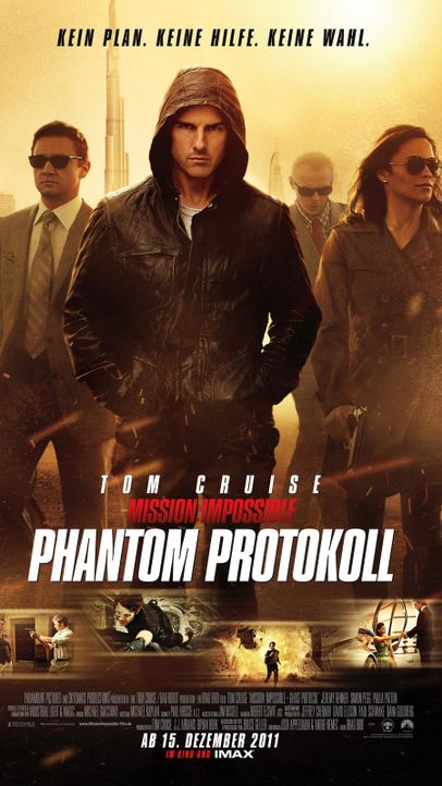 Mission: Impossible - Phantom Protokoll  - Bildquelle: Paramount Pictures