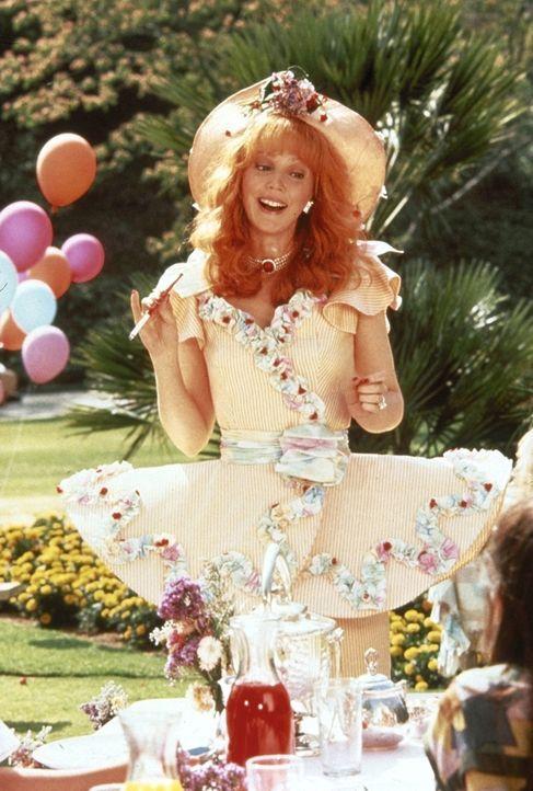 Organisation eines Kindergeburtstages gehört zu den großen Herausforderungen der verwöhnten Beverly-Hills-Hausfrau Phyllis (Shelley Long) ... - Bildquelle: Columbia Pictures