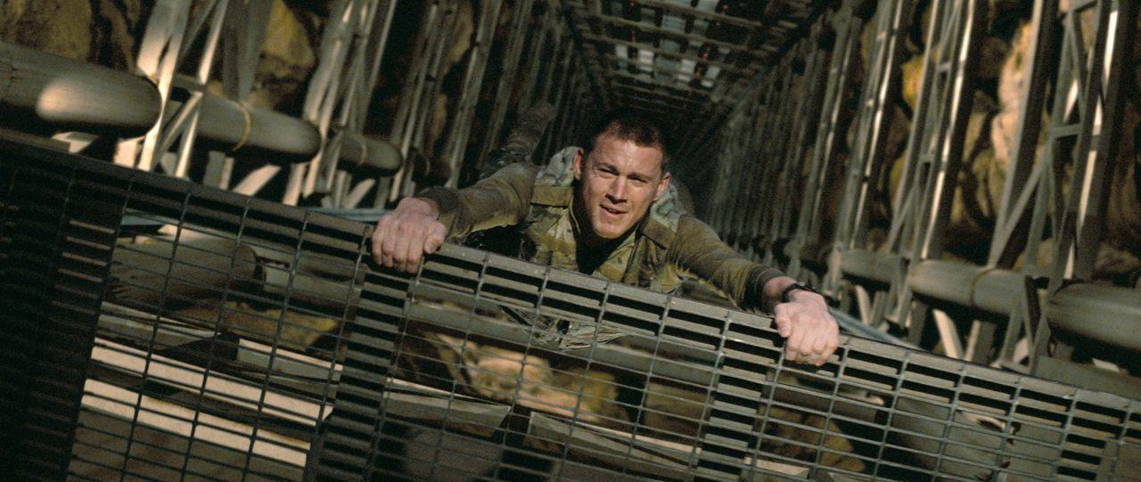 Wird in die Truppe der G.I. Joes aufgenommen und bewährt sich schon bald: Elitesoldat Duke (Channing Tatum) ... - Bildquelle: 2009 Paramount Pictures Corporation. All Rights Reserved.