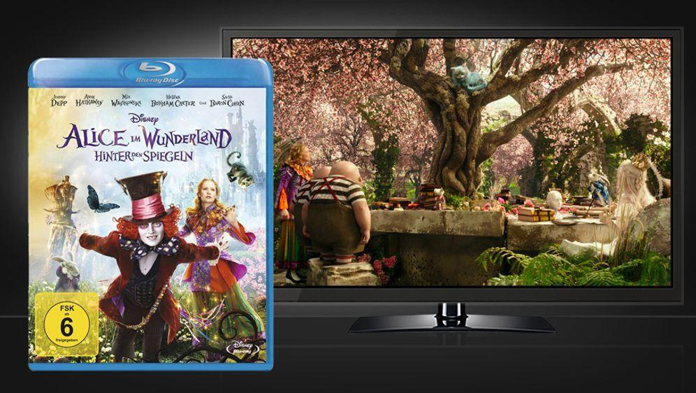 Alice im Wunderland: Hinter den Spiegeln (Blu-ray Disc) - Bildquelle: Walt Disney Studios