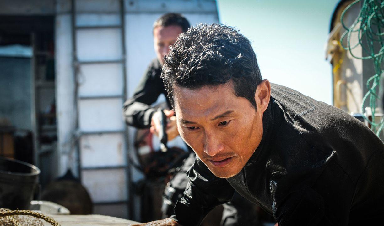 Muss gemeinsam mit seinem Team einen neuen Fall lösen: Chin (Daniel Dae Kim) ... - Bildquelle: Norman Shapiro 2016 CBS Broadcasting, Inc. All Rights Reserved / Norman Shapiro