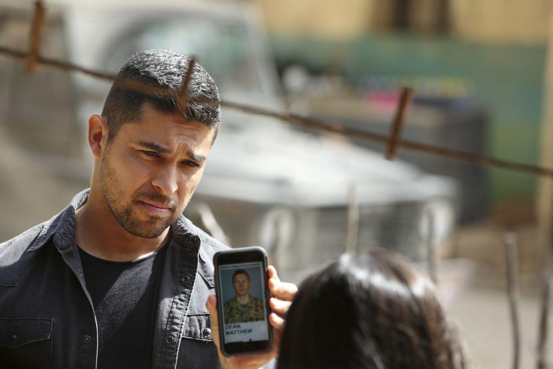 Die Suche nach einem verschwundenen Navy SEAL gestaltet sich für Torres (Wilmer Valderrama) und seine Kollegen schwerer als gedacht ... - Bildquelle: 2017 CBS Broadcasting, Inc. All Rights Reserved.