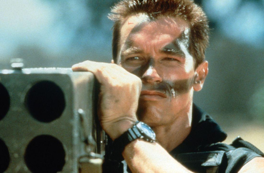 Als das ehemalige Geheimdienst-As John Matrix (Arnold Schwarzenegger) seinen wohlverdienten Ruhestand genießt, entführen Terroristen seine Tochter... - Bildquelle: 20th Century Fox Film Corporation