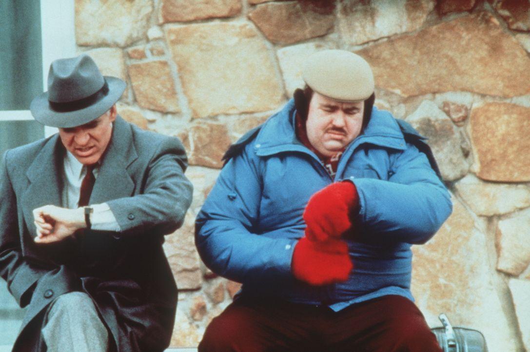Warten auf ein Ende: Neal (Steve Martin, l.) und Del (John Candy, r.) hoffen, dass endlich irgend etwas so funktioniert, wie es sollte ... - Bildquelle: Paramount Pictures
