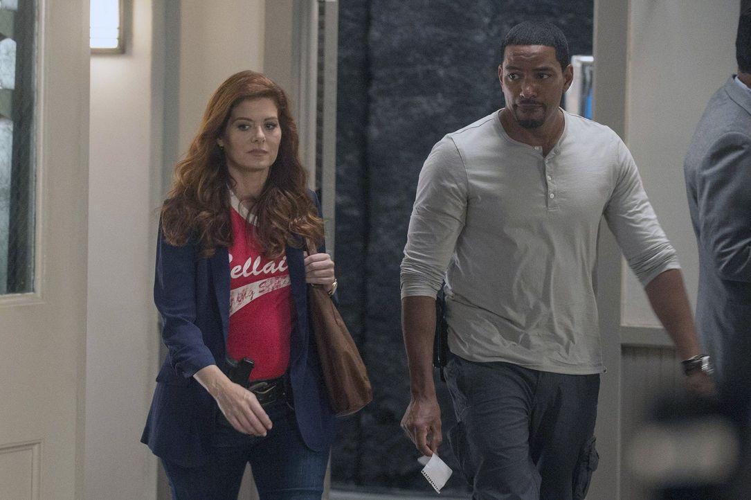 Ein neuer Fall beschäftigt Laura Diamond (Debra Messing, l.) und Billy Soto (Laz Alonso, r.) ... - Bildquelle: Warner Bros. Entertainment, Inc.