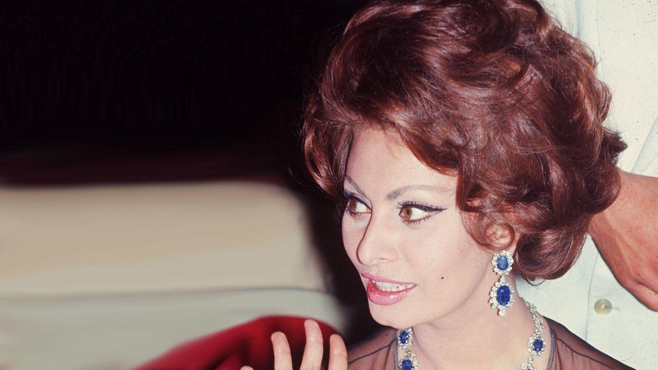 Sophia Loren - Bildquelle: AFP