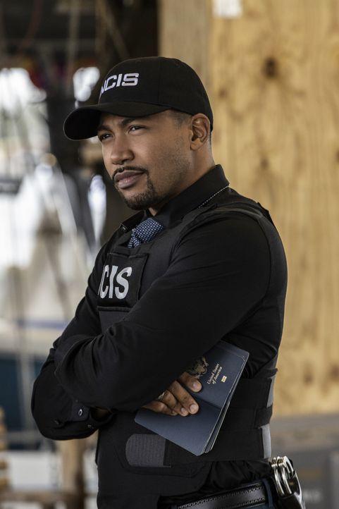Special Agent Quentin Carter (Charles Michael Davis) - Bildquelle: Sam Lothridge 2020 CBS Broadcasting Inc. All Rights Reserved. / Sam Lothridge