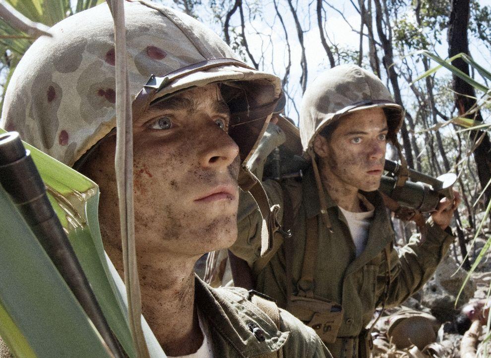 Am 15. September 1944 begann die 1. US-Marinedivision planmäßig mit der Landung. Niemand ahnt, dass den jungen Soldaten wie Corp. R.V. Burgin (Marti... - Bildquelle: Home Box Office Inc. All Rights Reserved.