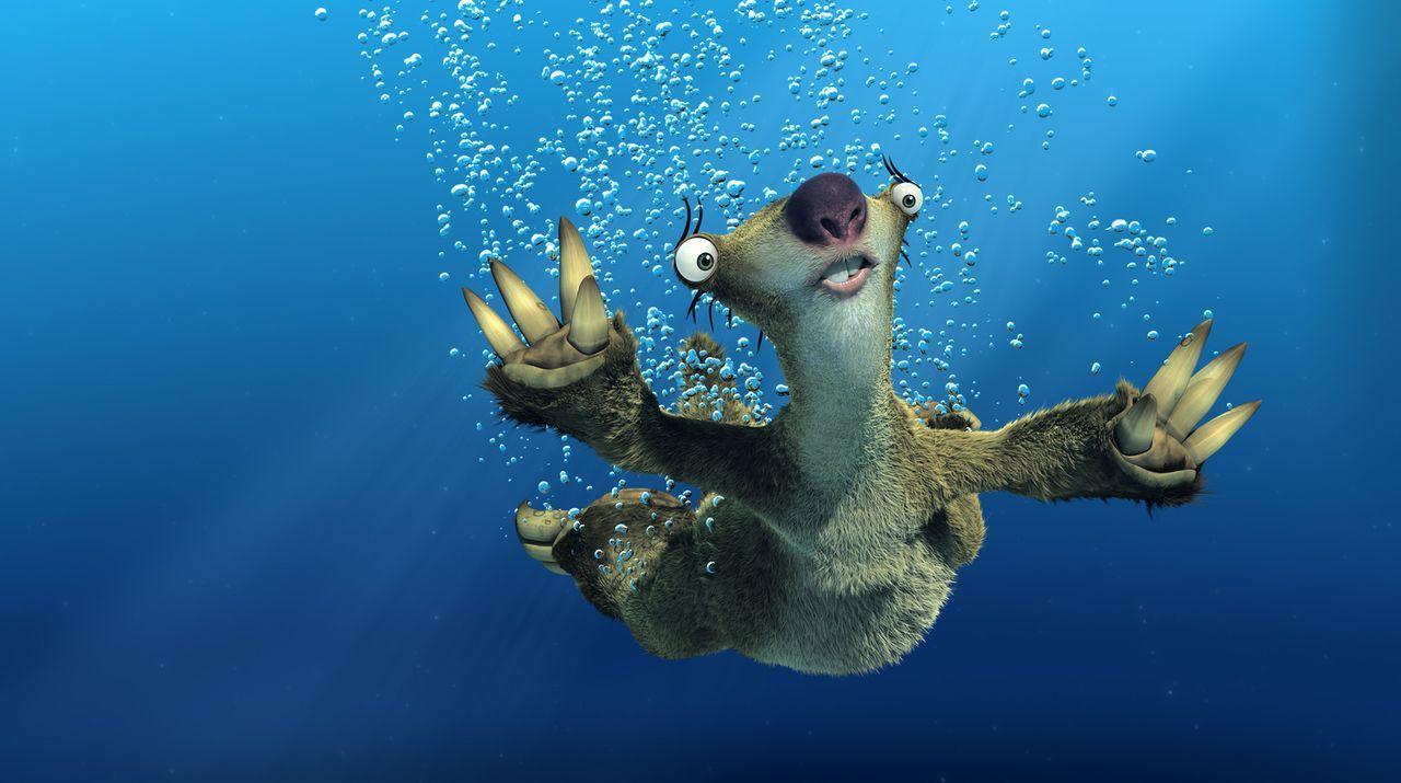 Die Eiszeit geht zu Ende, alles taut und der Wasserspiegel steigt bedrohlich. Auf Faultier Sid warten neue, gefährliche Abenteuer ... - Bildquelle: TM &   2006 Twentieth Century Fox Film Corporation. All Rights Reserved.