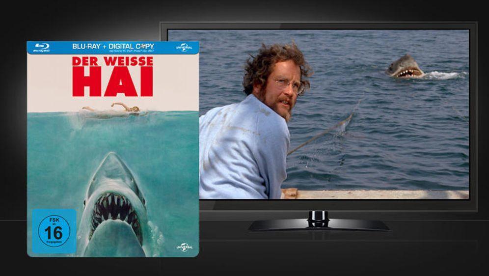 Der weiße Hai (Blu-ray Disc) - Bildquelle: Universal Pictures