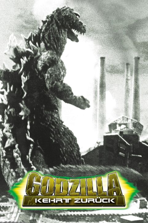 Godzilla kehrt zurück - Artwork - Bildquelle: 1955 Toho Co. Ltd.