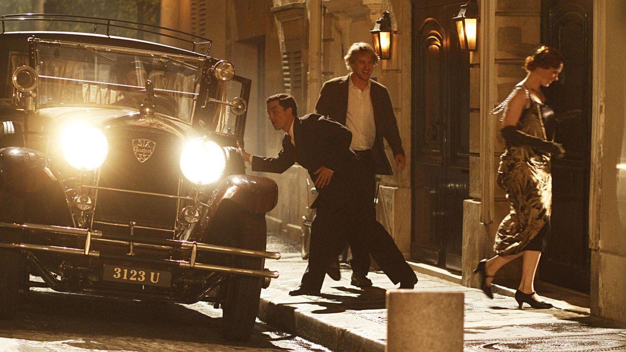 """""""Midnight in Paris"""" ist eine romantische Komödie mit Owen Wilson als Gil Pender in der Hauptrolle. - Bildquelle: Concorde"""