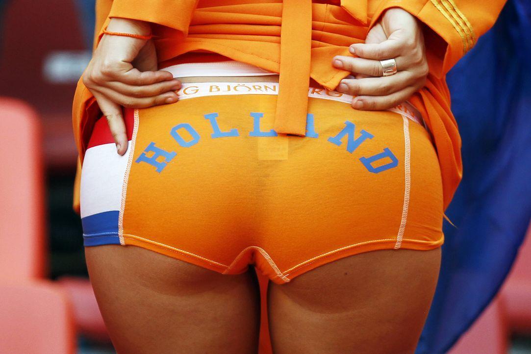 Die Fans der Oranjes - 4 - Bildquelle: AFP