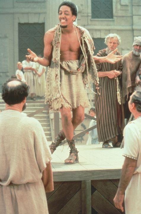 Beim gewagten Tänzchen: Josephus (Gregory Hines) überrascht seine Zeitgenossen  ... - Bildquelle: Brooksfilms Ltd.