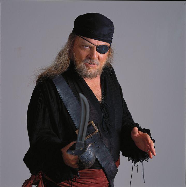 Vom Freibeuter zum Piraten, vom Piraten zum Piratenjäger: Kapitän Benjamin Hornigold (Stacy Keach) ... - Bildquelle: Hallmark Entertainment