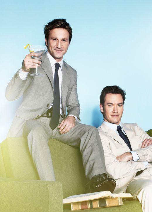 Freunde und Anwälte: Bash und Franklin - Bildquelle: Sony Pictures Television Inc.