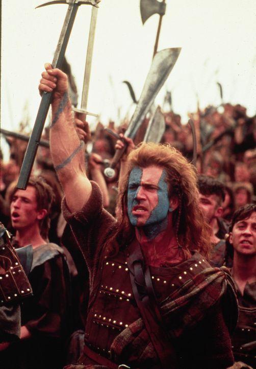 Inmitten des Kampfgetümmels: Braveheart William Wallace (Mel Gibson) ... - Bildquelle: Paramount Pictures