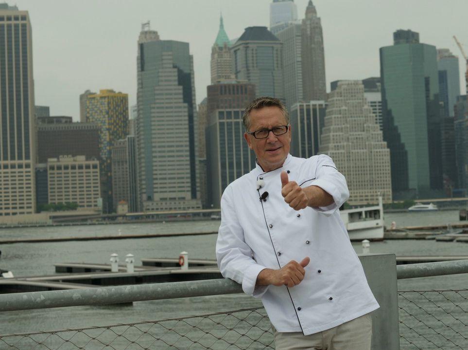 Nirgends wird das Verzehren von Steaks so zelebriert wie in New York. Die Stadt, die niemals schläft, ist der Wallfahrtsort für Steakliebhaber. - Bildquelle: kabel eins