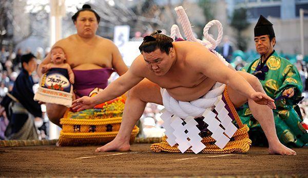 Sumo - Bildquelle: dpa