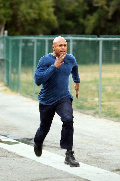 Um die nationale Sicherheit zu wahren, setzt Sam (LL Cool J) immer wieder sein Leben aufs Spiel ... - Bildquelle: CBS Studios Inc. All Rights Reserved.