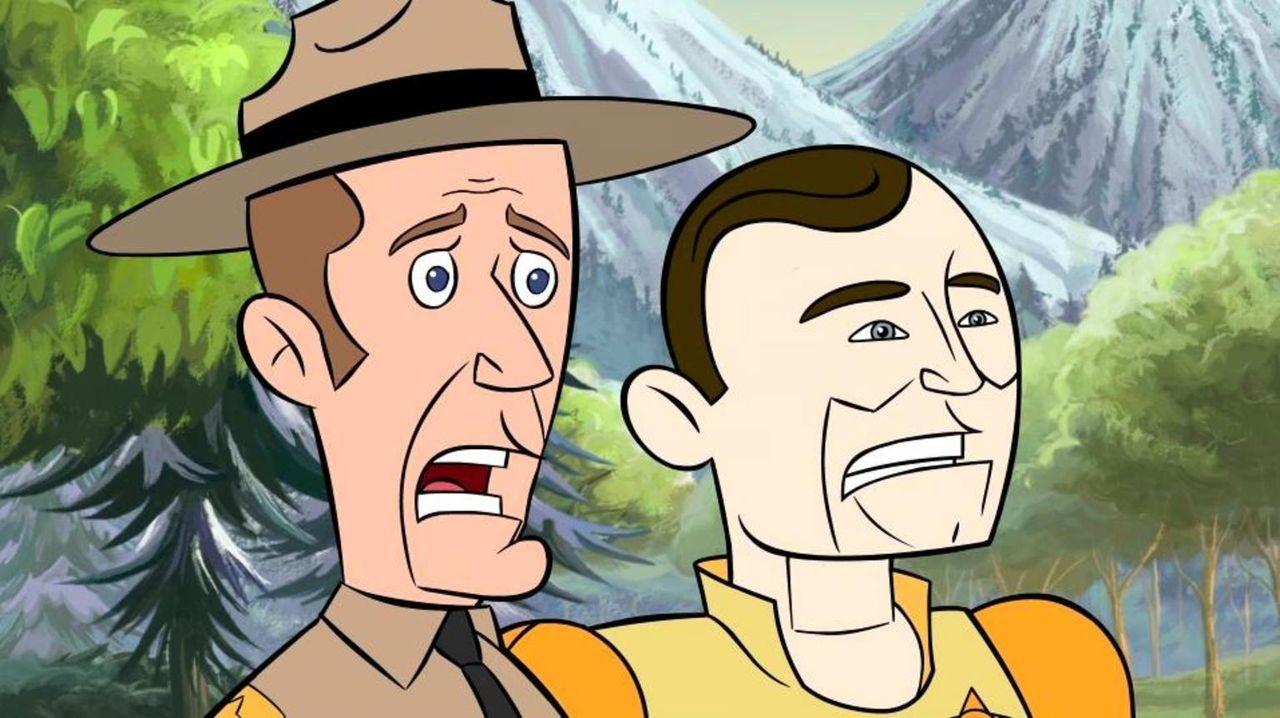 Was ist mit Jack (l.) und Andy (r.) nur geschehen? - Bildquelle: Universal Television