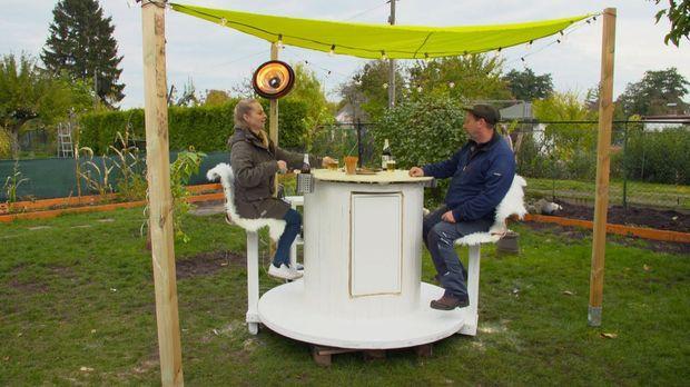 Abenteuer Leben - Abenteuer Leben - Montag: Diy Außenbar Aus Einer Kabeltrommel Und Ikea Möbeln