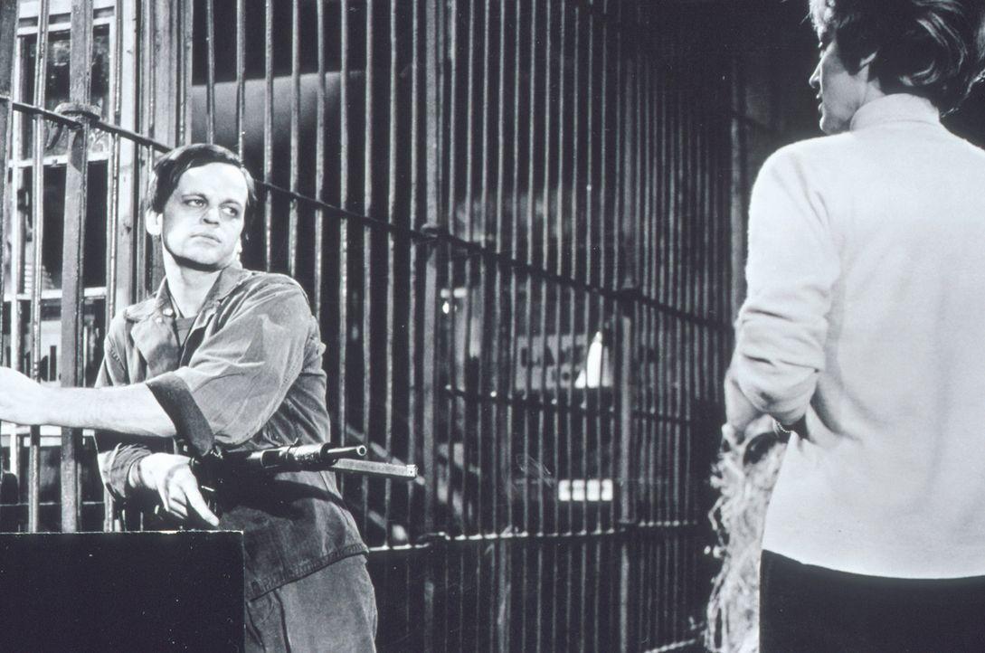 Stecken der unheimliche Tierpfleger Krischna (Klaus Kinski, l.) und die attraktive Millie Trent (Inge Langen, r.) unter einer Decke? - Bildquelle: Constantin Film
