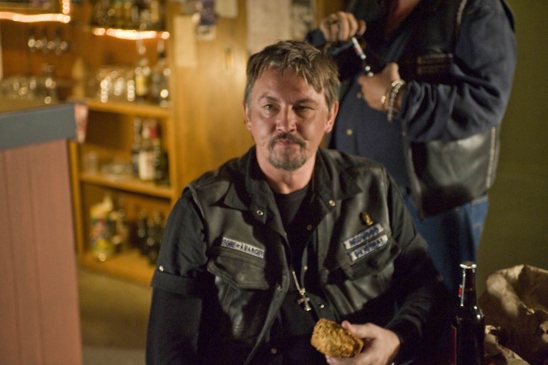 Chibs (Tommy Flanagan) ahnt, dass Ärger ins Haus steht ... - Bildquelle: 2008 FX Networks, LLC. All rights reserved.
