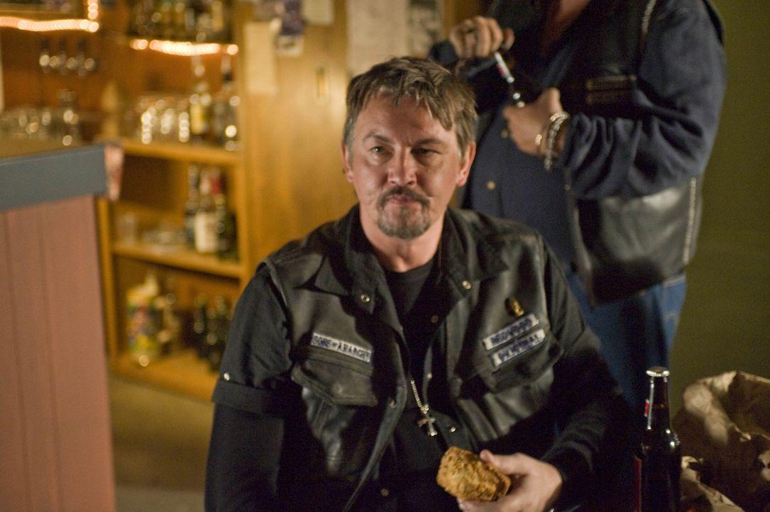 Chibs (Tommy Flanagan) ahnt, dass Ärger ins Haus steht ... - Bildquelle: 2008 FX Networks, LLC. All rights reserved.