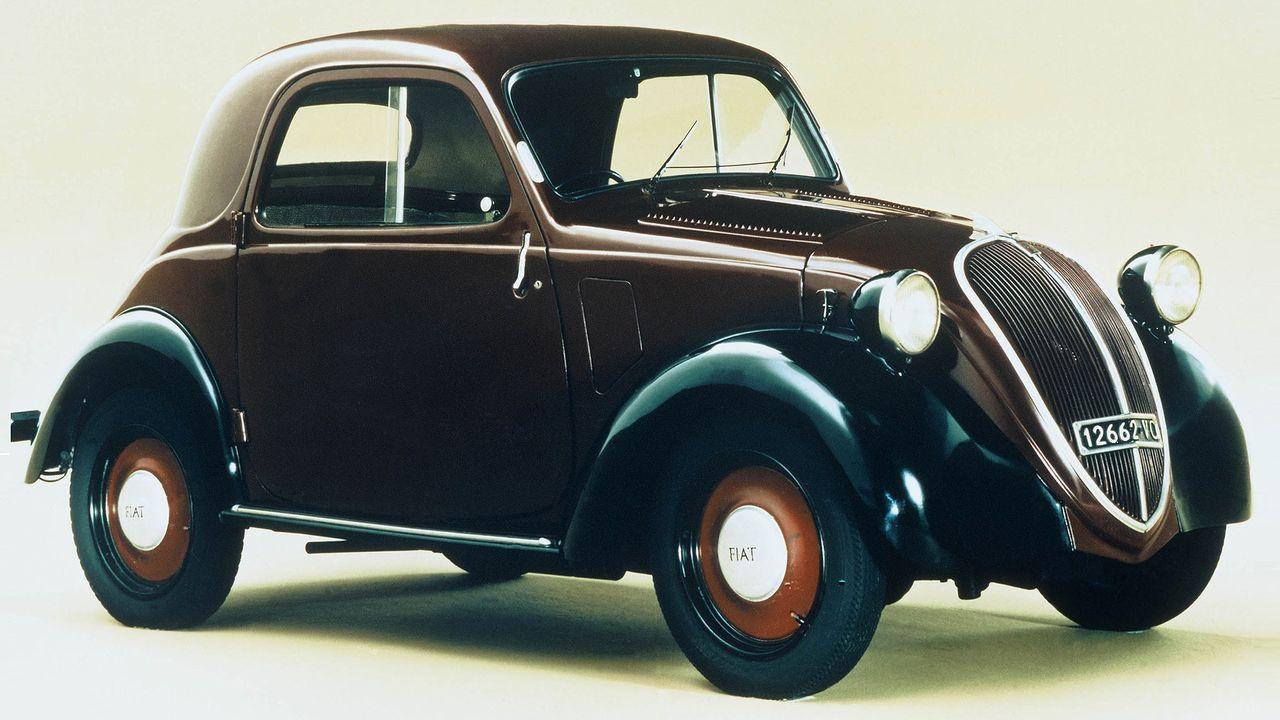 Fiat Topolino - Bildquelle: dpa