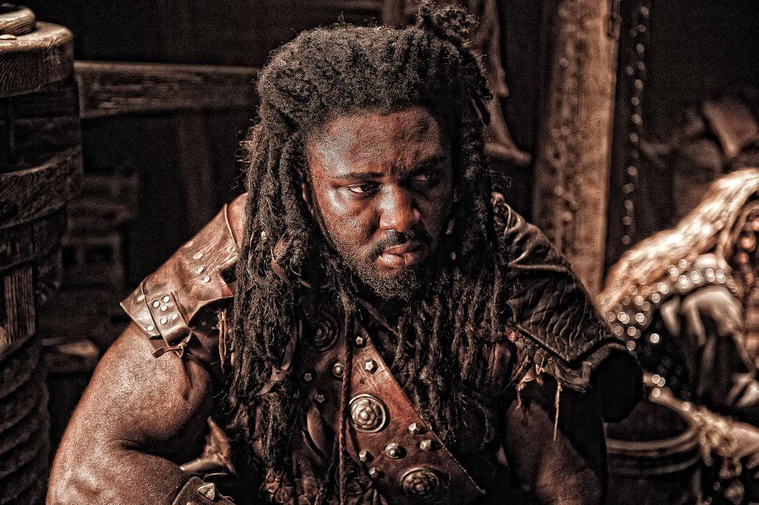 Das Leben im ständigen Kampf zu verbringen, das kennt Ufaka (Bob Sapp) von klein auf. Deshalb ist er auch jetzt bereit, als Führer von Kushite Tribe... - Bildquelle: Nu Image Films