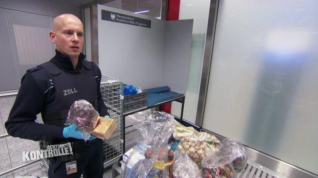 Achtung Kontrolle - Achtung Kontrolle! - Thema U.a.: Illegale Einfuhr Von Lebensmitteln - Zoll Frankfurt