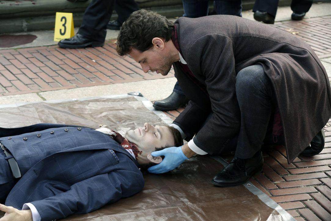 Mitten im Central Park wird ein Adliger ermordet. Kann Henry (Ioan Gruffudd) den Mörder aufspüren? - Bildquelle: Warner Brothers