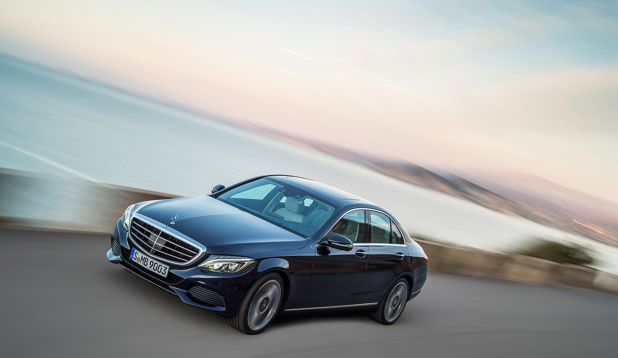 Mercedes C-Klasse (10) - Bildquelle: press photo, do not use for advertising purposes