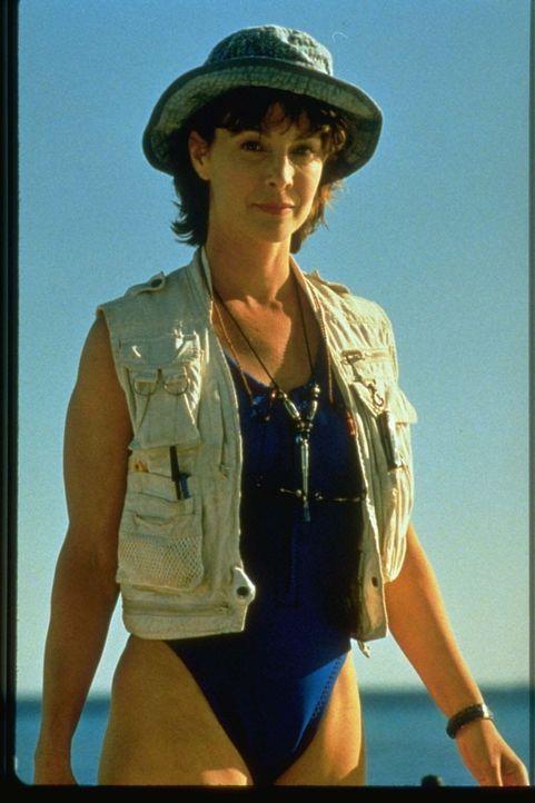 Die Meeresbiologin Mary Beth Dunhill (Kathleen Quinlan) will den gefangenen Delfin Roxanne wieder in die Freiheit zurückführen ...