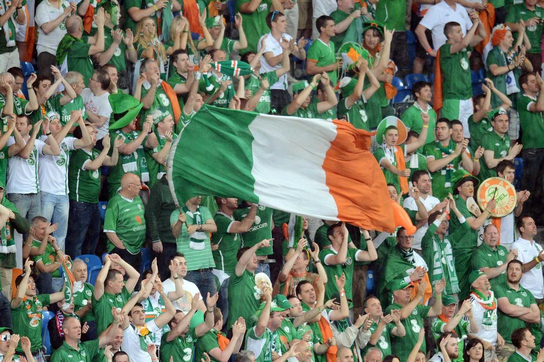 Fußball-Fan-Irland-120610-AFP - Bildquelle: AFP