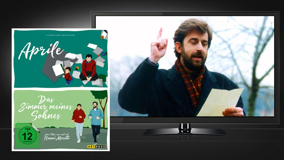 Nanni Moretti Edition (Blu-ray Discs) - Bildquelle: Studiocanal - picture alliance/Tandem Films/courtesy Everett Collection