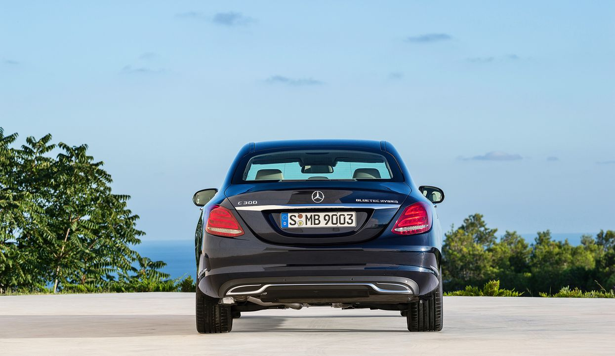 Mercedes C-Klasse (9) - Bildquelle: press photo, do not use for advertising purposes