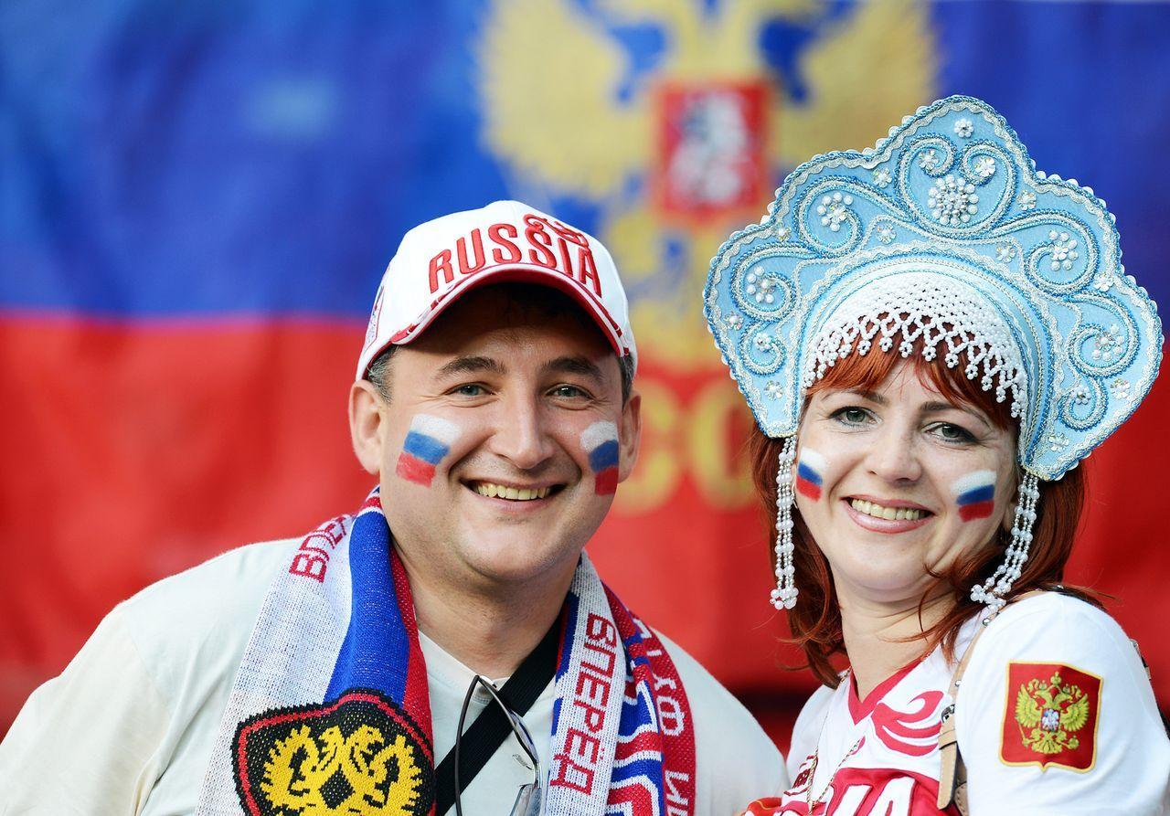 Hübsche russische fans